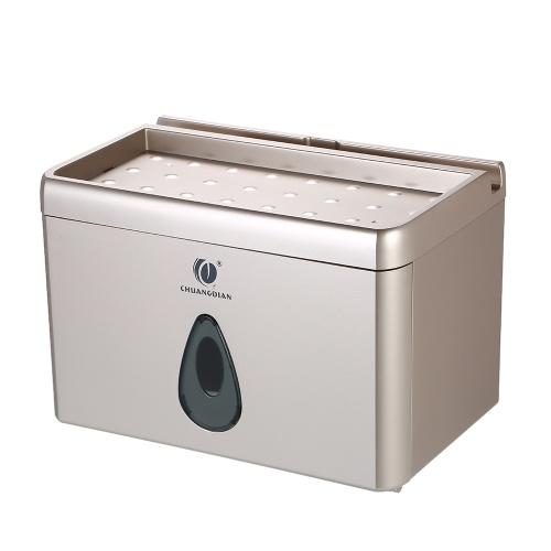 CHUANGDIAN Многофункциональный настенный тканевый диспенсер для ванной комнаты для туалетной бумаги для небольшой рулонной бумаги