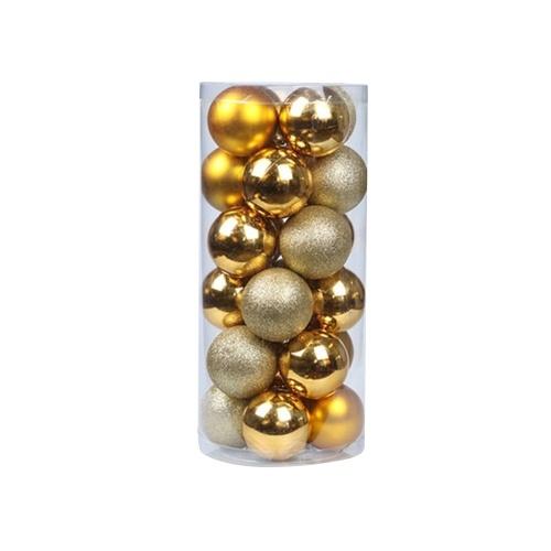 24 peças enfeites de bola de natal