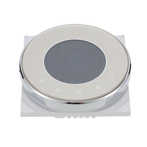 3A 95 ~ 240V Водяное отопление Энергосберегающий термостат с сенсорным экраном ЖК-дисплей Еженедельный программируемый регулятор температуры в помещении Продукт для улучшения дома
