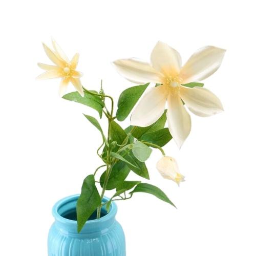 Artificial Trident Lotus Flower Simulation Seda Floral