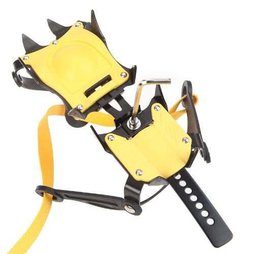 10 ramponi  cintura scarponi di sci tipo rampone cinghia copriscarpe antiscivolo trekking d'alta quota antiscivolo