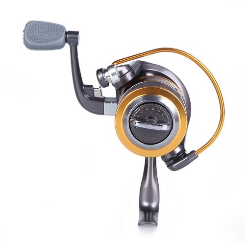 8 BB palla cuscinetto intercambiabile sinistra/destra maniglia pieghevole pesca Spinning mulinelli ad alta velocità 5.1:1 ST5000