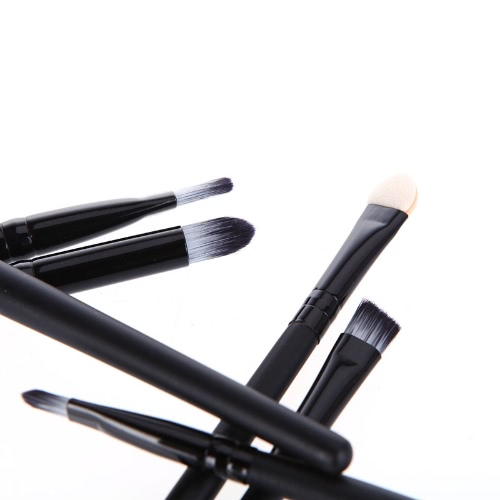 Anself 6ST Makeup Pinsel Kosmetik Set Eyeshadow Eyeliner Nase Smudge Toolkit