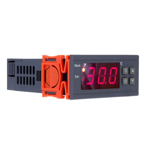 90~250V 10A Digital Temperature Controller Thermocouple -50~110 Celsius Degree with Sensor
