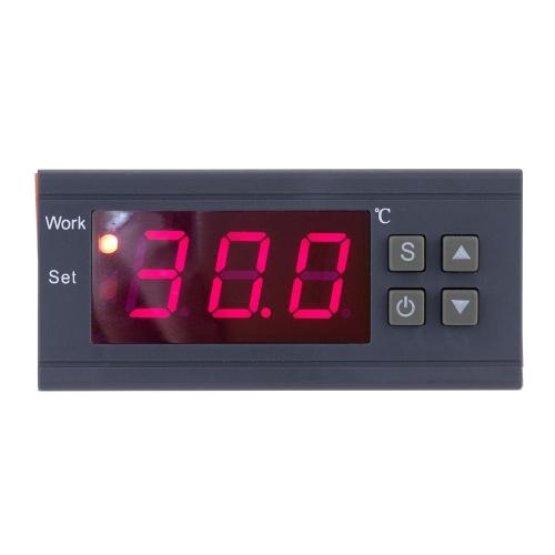 KKmoon  90〜250V 10A デジタル温度コントローラ  熱電対  -50〜110摂氏度  センサー 付き