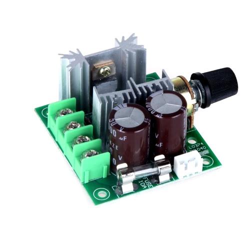 Interruptor de controle do 12V-40V 10A Pulse Width modulação PWM DC Motor velocidade 13KHz