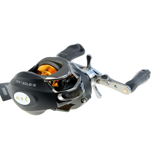 Docooler Left/Right Hand Bait Casting Fishing Reel 10BB 6.3:1 9Ball Bearings + One-way Clutch