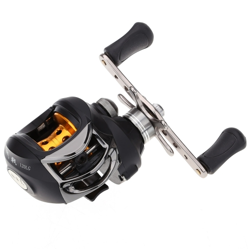 10BB 6.3:1 Left Hand Bait Casting Fishing Reel 9Ball Bearings + One-way Clutch High Speed thumbnail