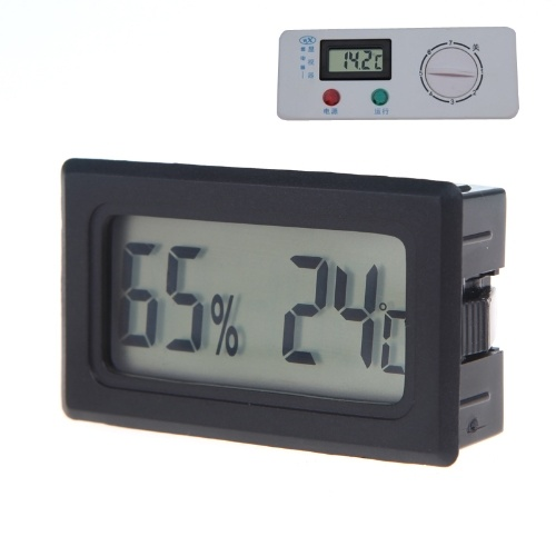 Second Hand Mini Digital LCD Thermometer Hygrometer Humidity Temperature Meter Indoor