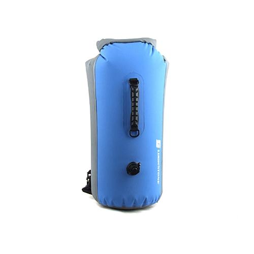 Sacchetto impermeabile esterna 35L Drifting sacchetto asciutto Kayak canoa Rafting campeggio blu