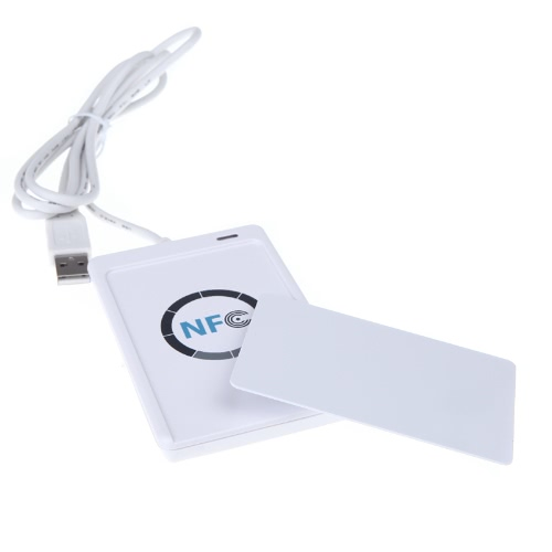 Lixada NFC ACR122U RFID Contactless Smart Reader & Writer/USB + SDK + IC Card