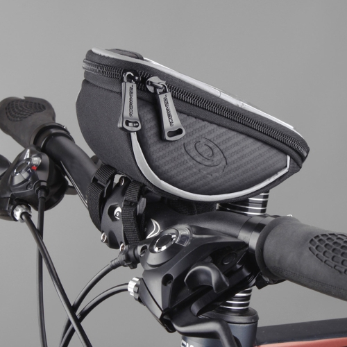 Lixada Roswheel Bicycle Cycling MTB BMX Handlebar Bags Phone Holder Mount with Touch Screen 5.5 Inch Screen