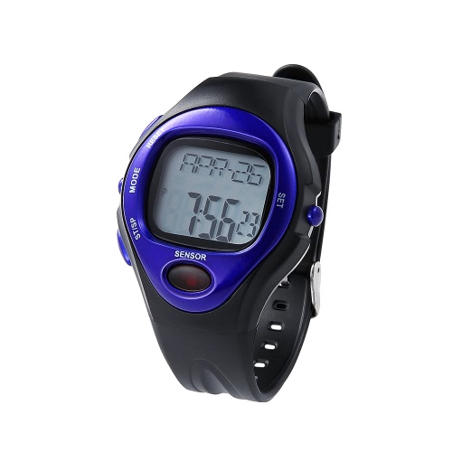 pulse heart rate monitor calorie counter fitness sport exercise