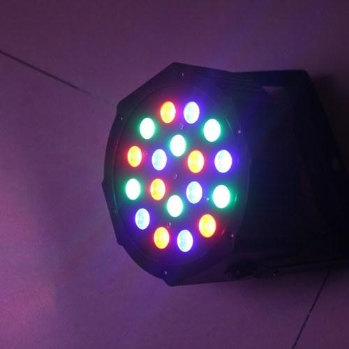 DMX-512 RGB LED Stage PAR Light