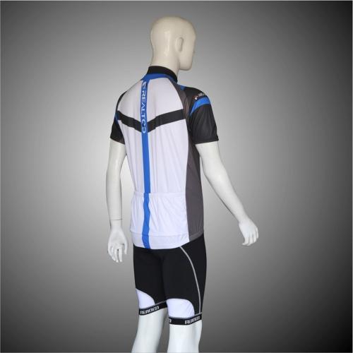 Herren Fahrradtrikot  Radfahren Jersey  Bike Fahrrad Shirt blau/schwarz