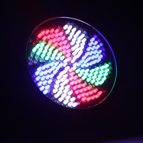 Luz RGBW DMX-512 LED etapa iluminación estroboscópica 8 canal Show discoteca fiesta 25W CA 90-240V