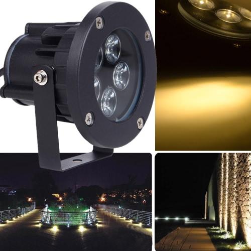 5 * lámpara de la luz del césped del LED 1W