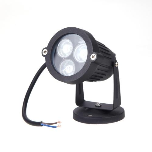 6W LED Lawn Light Lamp Spotlight IP65 Waterproof Outdoor Garden Pond Park Landscape Warm White DC12-24V