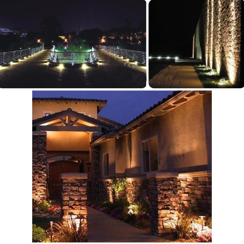 6W LED Lawn Light Lamp White фото