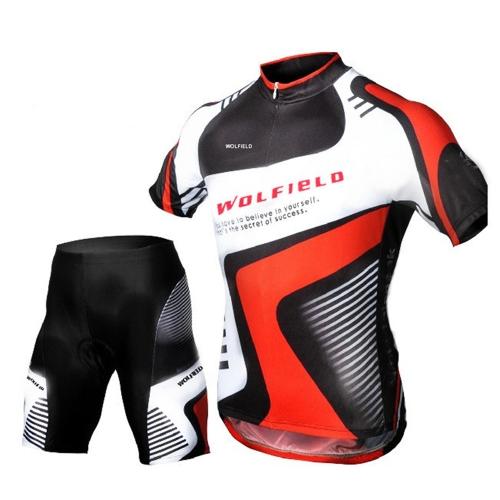 Ciclismo bicicletta bici all'aperto maglia + pantaloncini manica corta traspirante equitazione pantaloni abiti