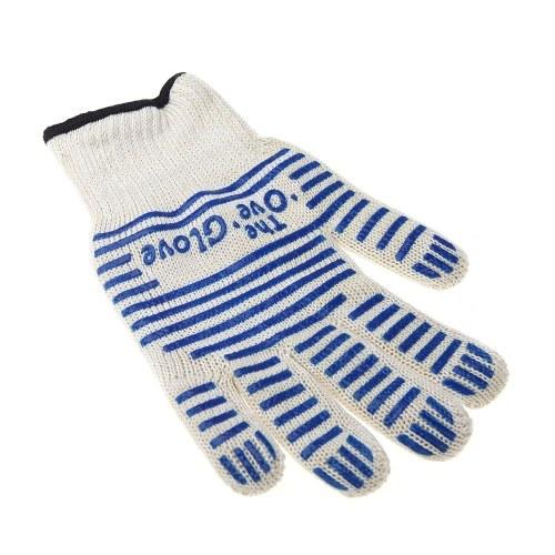 Перманентная перчатка для перчаток с защитой от жары 250 ℃ для правой левой руки Защитный универсальный