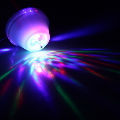 Full Color RGB 24 LED Stage Light Crystal Lamp Colorful Bulb For KTV Stage DJ Party Disc Bar 8W 85-260V