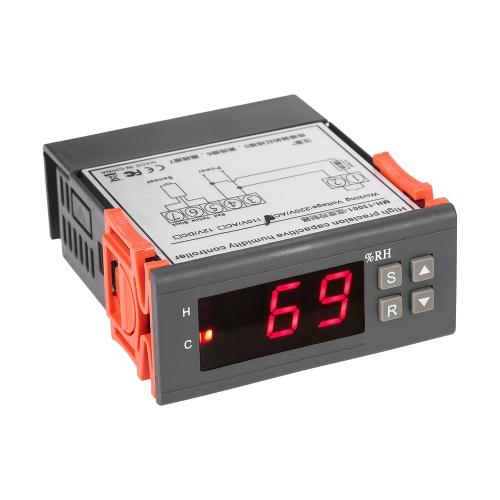 Controlador de controle de umidade de ar digital mini 10A 220V