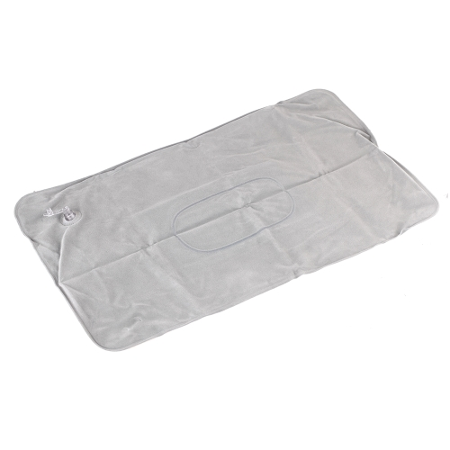 Almohada inflable Cojín Superficie Doble Flocado