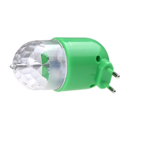 LED Rotating Full Color Lamp Colorful Light Rotate RGB Bulb for  DJ Party Stage Crystal with On/Off Button 3W 85 - 260V
