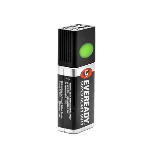Blocklite da 9 Volt LED torcia torcia da campeggio luce 2-Mode dimensioni compatte Ultra luminosa