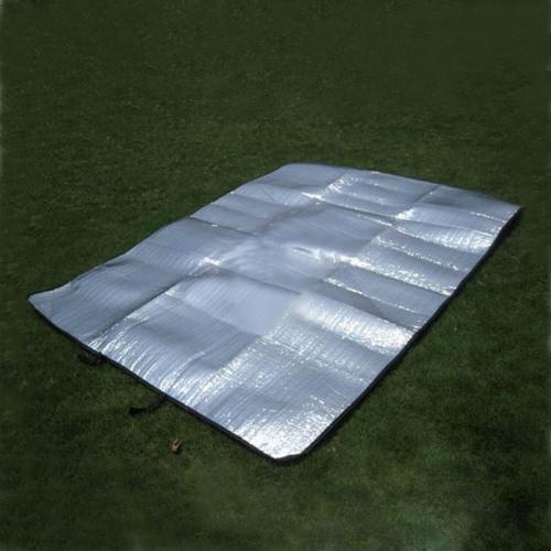 Lixada estera Mat tienda de campaña de doble cara exterior colchón Dormir Pad de humedad Multifuncion al aire libre Picnic Playa Viajes 200 * 150 cm