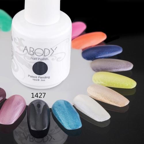 AKörper 15ml Soak Nail Gel polnische Nail Art Professional Schellack Lack Maniküre UV Lampe & LED Farben 177 1427