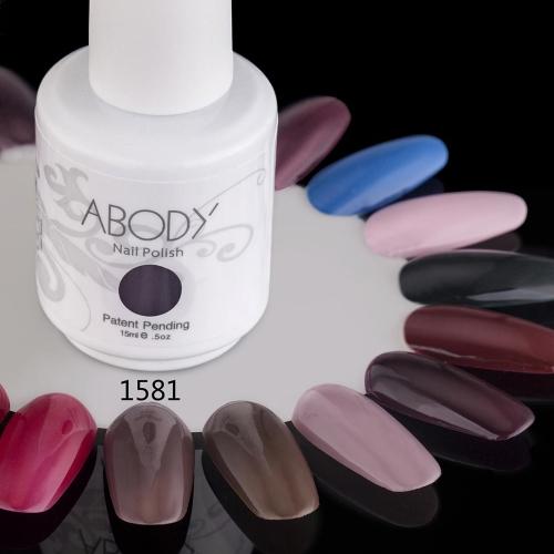 AKörper 15ml Soak Nail Gel polnische Nail Art Professional Lack Maniküre UV Lampe & LED Farben 177 1581