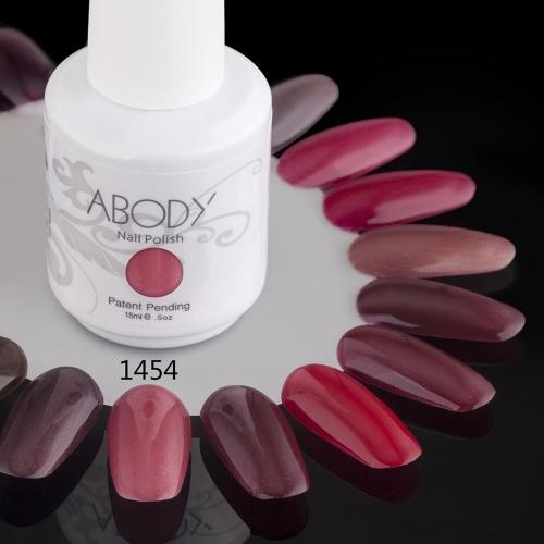 AKörper 15ml Soak Nail Gel polnische Nail Art Professional Lack Maniküre UV Lampe & LED Farben 177 1454