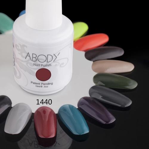 AKörper 15ml Soak Nail Gel polnische Nail Art Professional Lack Maniküre UV Lampe & LED Farben 177 1440