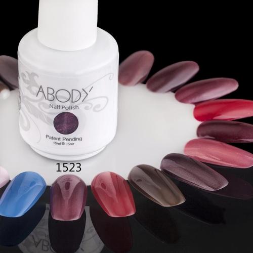 AKörper 15ml Soak Nail Gel polnische Nail Art Professional Lack Maniküre UV Lampe & LED Farben 177 1523