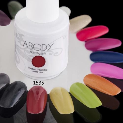 AKörper 15ml Soak Nail Gel polnische Nail Art Professional Lack Maniküre UV Lampe & LED 177 Farben 1535