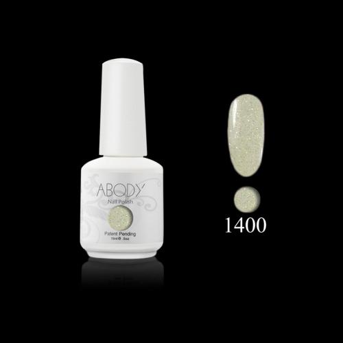 AKörper 15ml Soak Nail Gel polnische Nail Art Professional Lack Maniküre UV Lampe & LED 177 Farben 1400