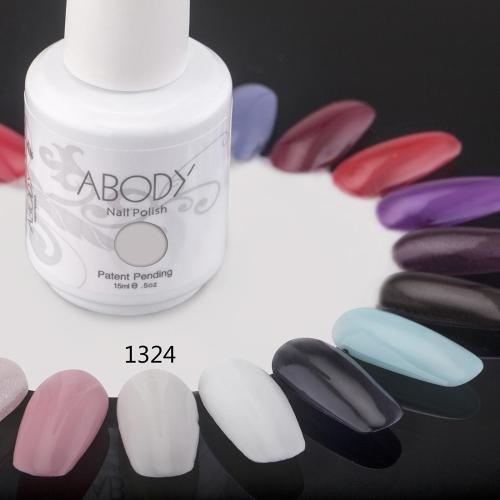 AKörper 15ml Soak Nail Gel polnische Nail Art Professional Lack Maniküre UV Lampe & LED 177 Farben 1324