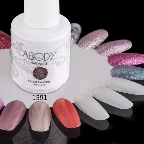 AKörper 15ml Soak Nail Gel polnische Nail Art Professional Lack Maniküre UV Lampe & LED 177 Farben 1591