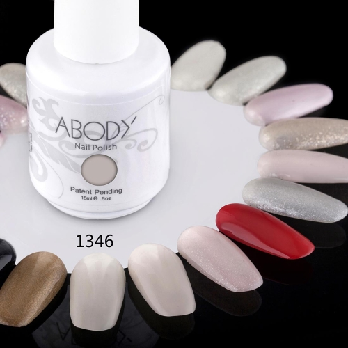 AKörper 15ml Soak Nail Gel polnische Nail Art Professional Lack Maniküre UV Lampe & LED 177 Farben 1346