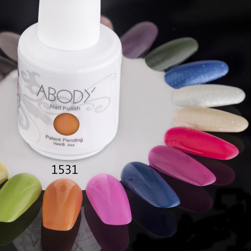 Anself Anself 15ml Soak Off Nagellack Nail Gel Polnische Nail Art Professional Nagel Lack Maniküre UV Lampe & LED