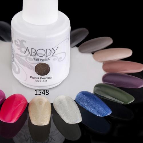 AKörper 15ml Soak Nail Gel polnische Nail Art Professional Lack Maniküre UV Lampe & LED Farben 177 1548