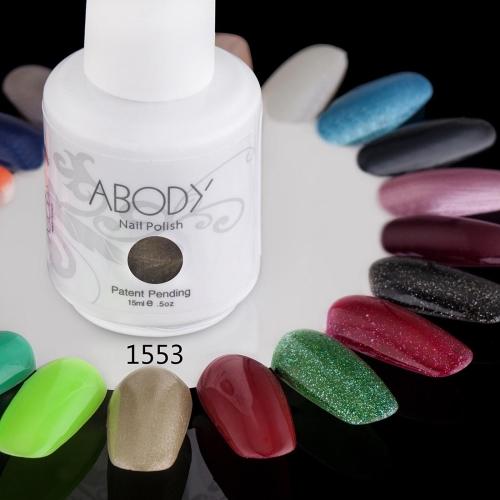 AKörper 15ml Soak Nail Gel polnische Nail Art Professional Lack Maniküre UV Lampe & LED Farben 177 1553