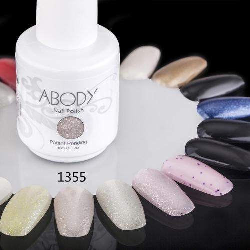 Abody 15ml Отмачиваемый Шеллак для Ногтей Искусство Ногтей Профессиональный Лак Маникюр UV Лампа & LED 177 Цветов 1355