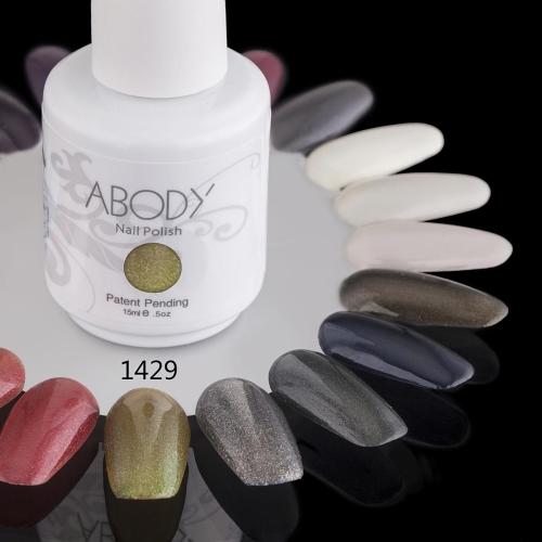 AKörper 15ml Soak Nail Gel polnische Nail Art Professional Lack Maniküre UV Lampe & LED 177 Farben 1429