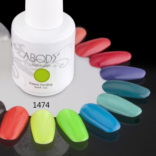 AKörper 15ml Soak Nail Gel polnische Nail Art Professional Lack Maniküre UV Lampe & LED Farben 177 1474
