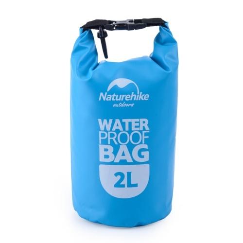 2L Piccola Borsa Ultraleggera Impermeabile del Viaggio all'aperto Nuoto  Blu