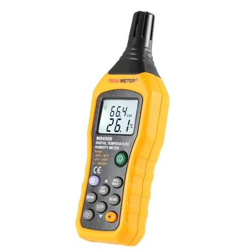 Цифровой измеритель влажности PEAKMETER MS6508