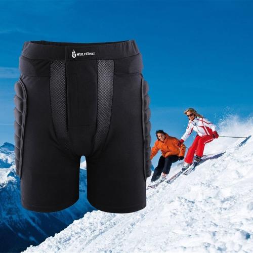 Protezione anca Pad imbottito Shorts sci snowboard pattinaggio Protezioni paracolpi L